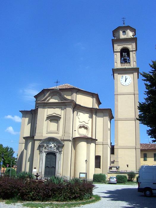 Foto della Chiesa di San Majolo Abate ad Albignano di Truccazzano in provincia di Milano