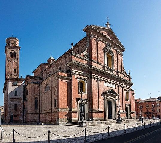 Foto della Cattedrale di San Cassiano a Imola in provincia di Bologna