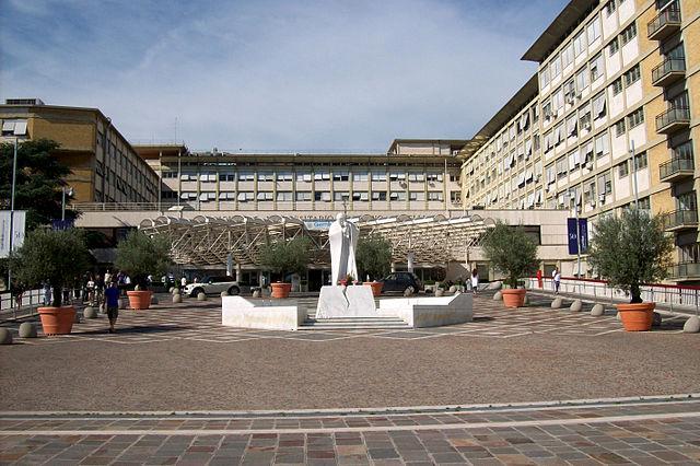 Foto del policlinico Agostino Gemelli di Roma dove Aliona Oleinic è stata ricoverata