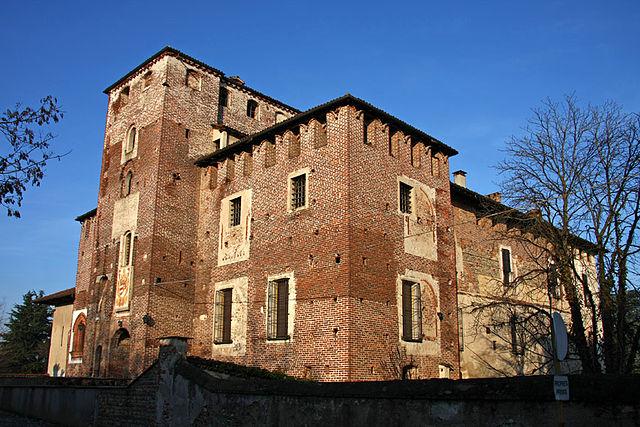 Foto del Castello di Caltignaga, uno dei monumenti più importanti della città
