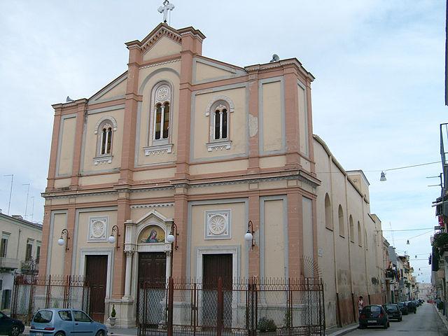 La Chiesa della Beata Vergine Maria Addolorata di Cerignola in provincia di Foggia
