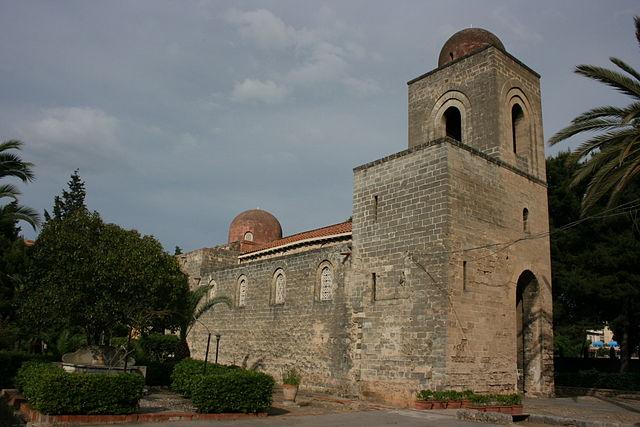 Foto della Chiesa di San Giovanni dei Lebbrosi a Palermo dove si sono svolti i funerali di Anna Maria Scavo