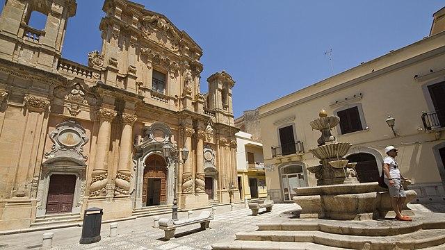 Foto della Chiesa del Purgatorio a Marsala