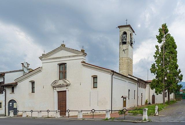 La Chiesa di Santa Maria della Pieve di Urago Mella, frazione della città di Brescia