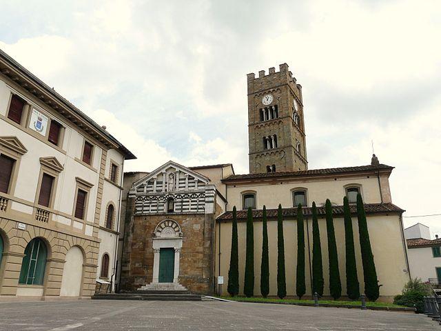Foto della Chiesa di San Jacopo Maggiore ad Altopascio, comune della provincia di Lucca