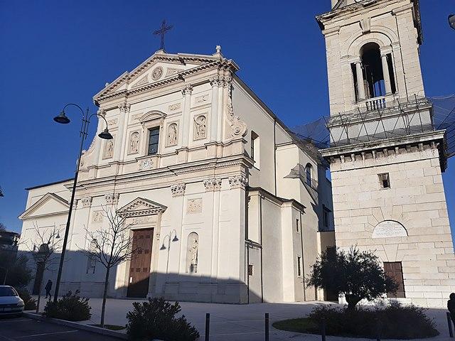 Foto della Chiesa di San Michele Arcangelo nel quartiere San Michele Extra di Verona dove si sono svolti i funerali di Fernanda Paoletti