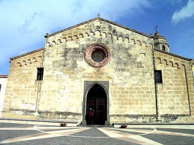Foto della Chiesa di Santa Reparata a Narbolia in provincia di Oristano