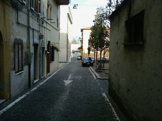 Foto del centro storico di Cisterna di Latina, paese d'origine di Desirée Mariottini