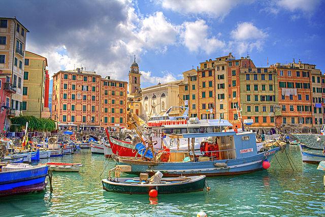 Foto di Camogli in provincia di Genova