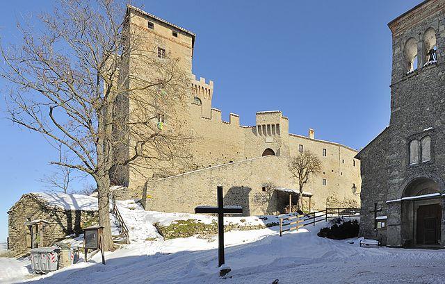 Foto del Castello di Montecuccolo, il monumento più importante di Pavullo Nel Frignano in provincia di Modena