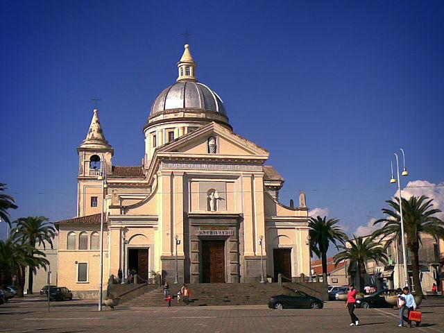 Foto del Duomo di Mascali in provincia di Catania