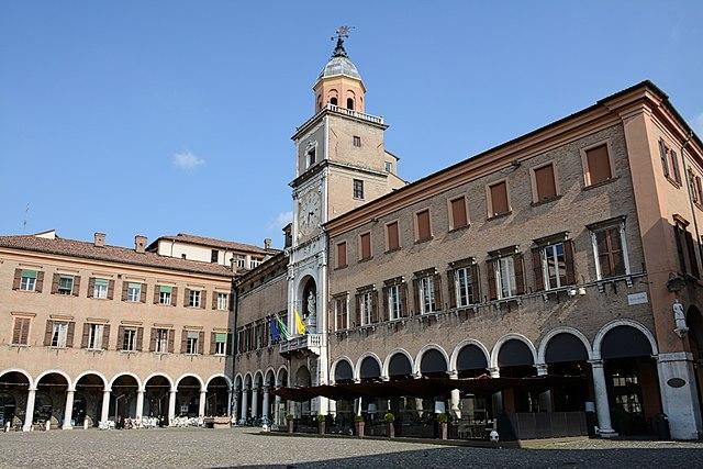 Foto del Palazzo Comunale situato in Piazza Grande a Modena