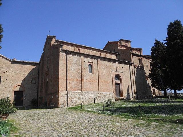 Foto dell'Abbazia di Monteveglio in provincia di Bologna