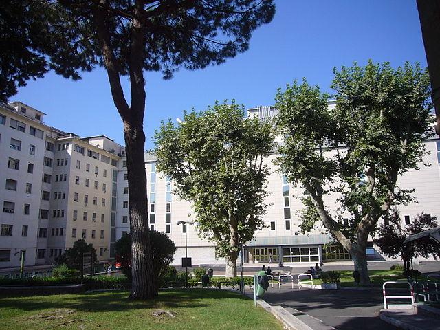 Foto dell'ospedale San Giovanni di Roma dove Maria Drabikova ha perso la vita dopo circa 24 ore di agonia