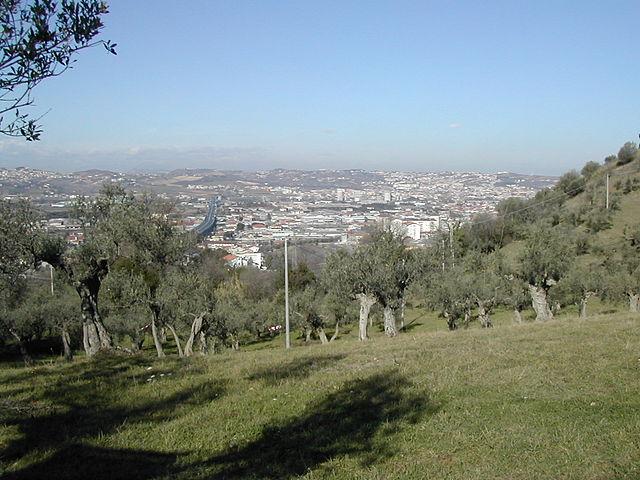 Panorama di Pescara da Colle Orlando