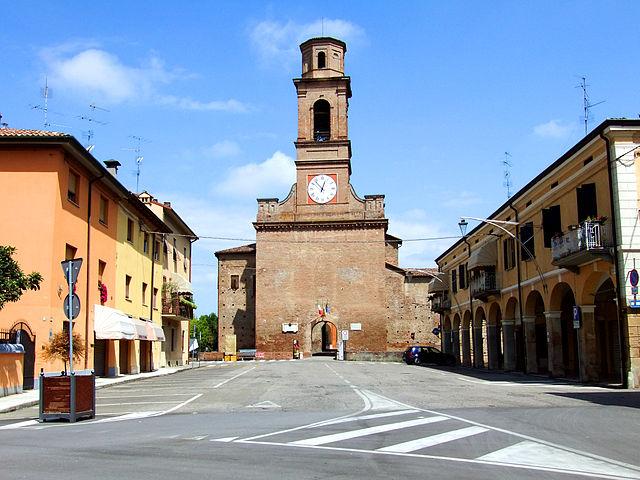 La Rocca di Novellara, uno dei monumenti più importanti della cittadina in provincia di Reggio Emilia