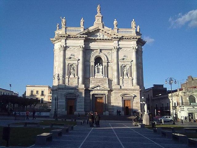 Il Santuario di S.Giuseppe, il monumento più importante dell'omonimo comune vesuviano in provincia di Napoli