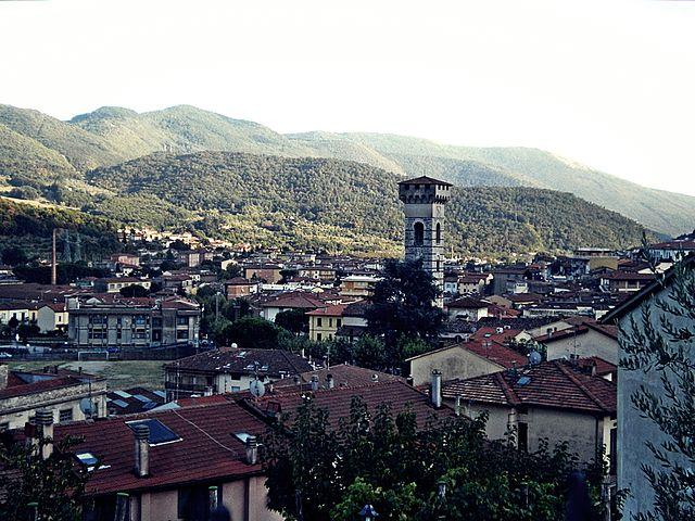 Uno scorcio panoramico di Vaiano, comune in provincia di Prato dove risiedevano Claudia Corrieri e Leonardo Santini