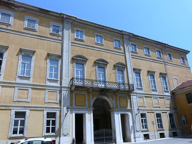 Foto del Palazzo Pellizzari, sede del municipio di Valenza in provincia di Alessandria