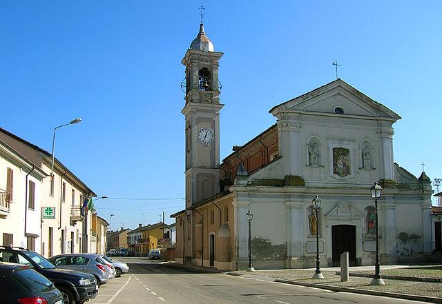 Foto di Zerbolò in provincia di Pavia, paese dove risiedeva Andrea Casarin