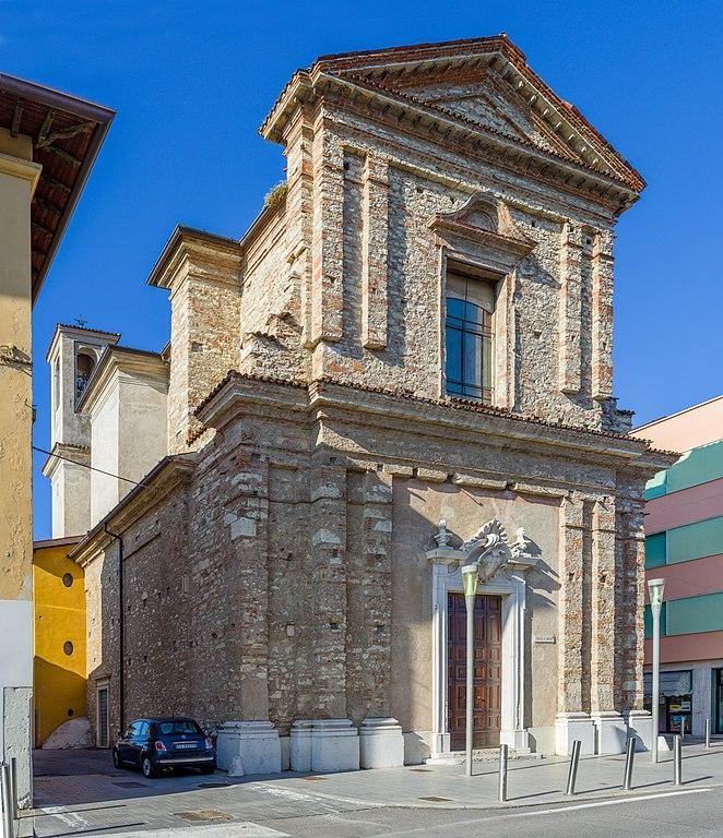 Foto della Chiesa di Santa Maria nel quartiere Mompiano di Brescia