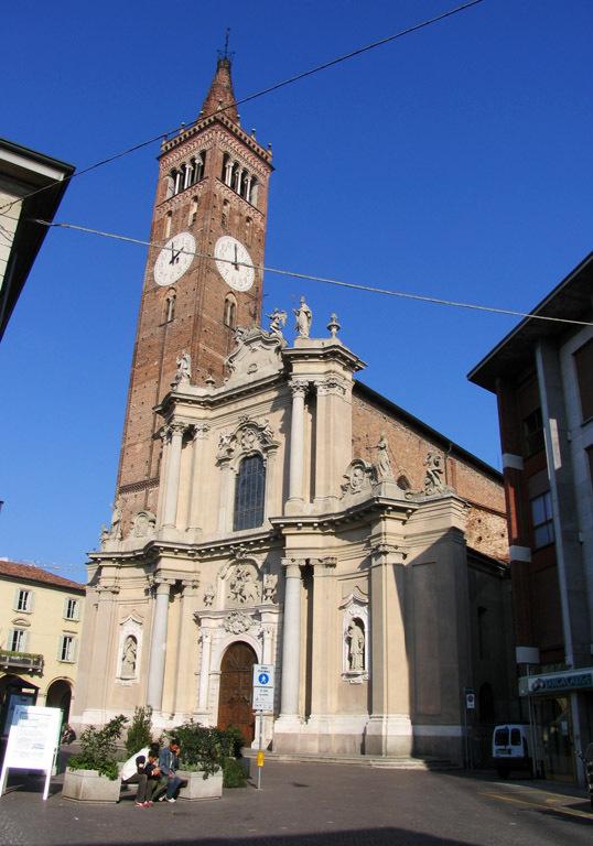 Foto della Basilica di San Martino dove si sono svolti i funerali di Maria Antonia Lanzeni