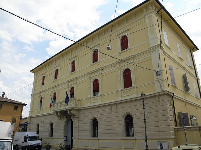 Foto del palazzo municipale di Castello d'Argile in provincia di Bologna