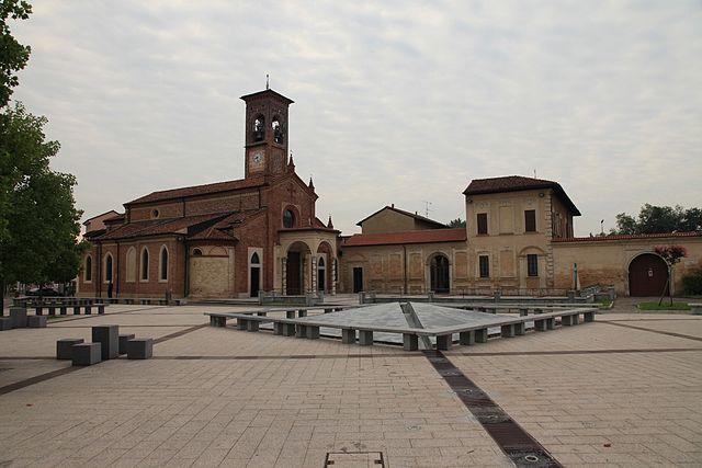 Foto della Chiesa di San Martino Vescovo a Carpiano in provincia di Milano
