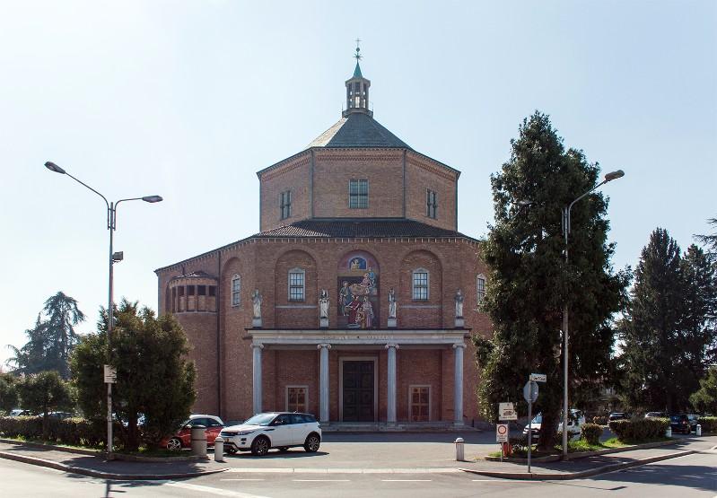 Foto della Chiesa di Santa Maria Nascente a Cabiate dove sono stati celebrati i funerali della piccola Sharon