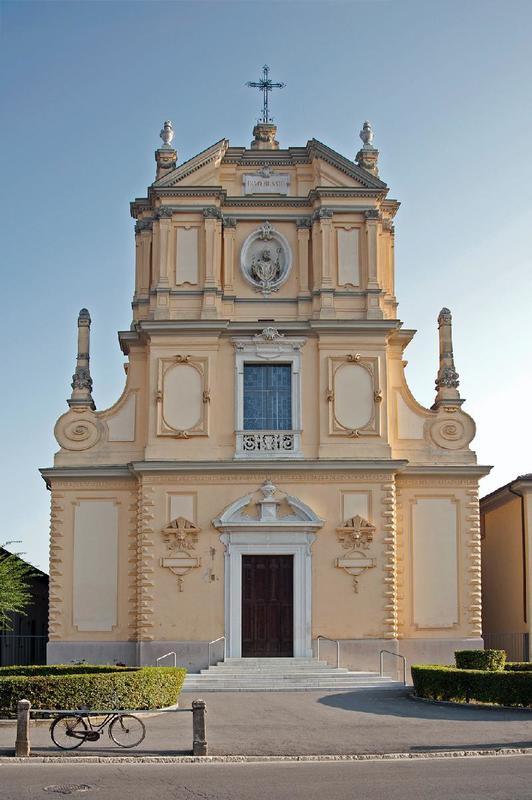 Foto della Chiesa di San Biagio a Milzano in provincia di Brescia