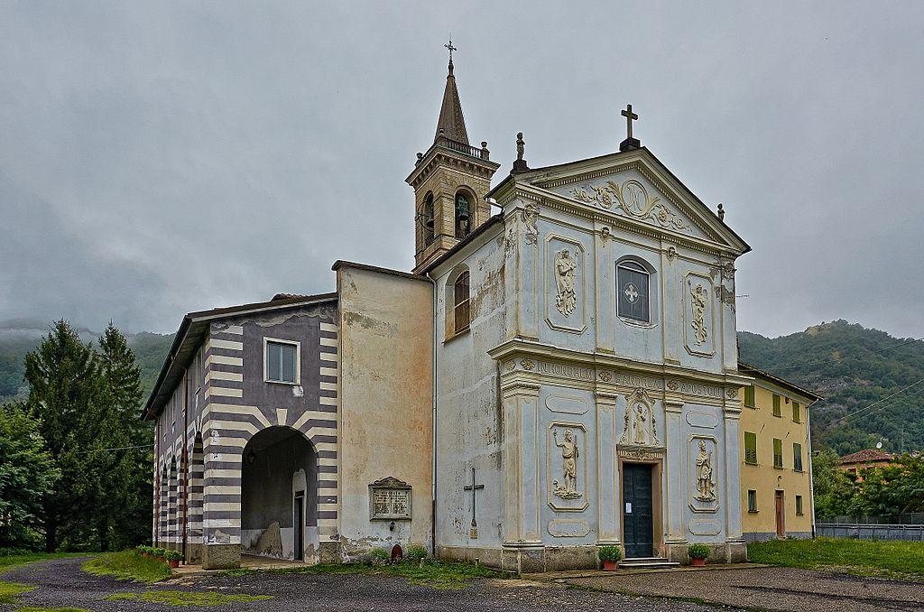 Foto della Chiesa di Sant'Andrea ad Arquata Scrivia in provincia di Alessandria