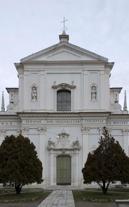 Foto della Chiesa di Santa Maria Immacolata a Nave in provincia di Brescia dove sono stati celebrati i funerali di Manuela Bailo