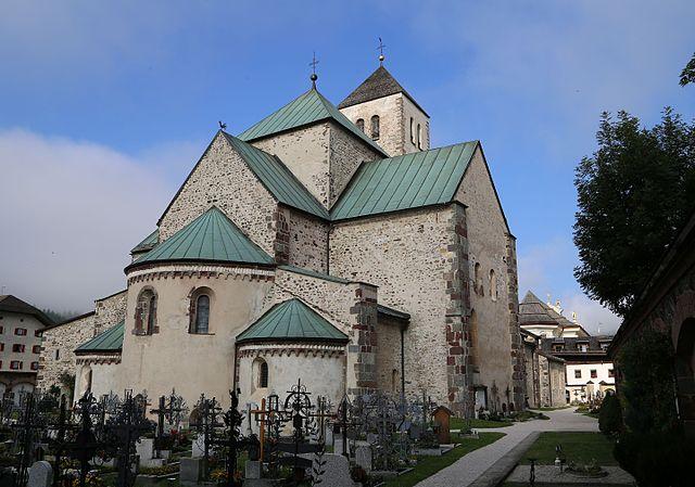 Foto della Collegiata di San Candido in provincia di Bolzano