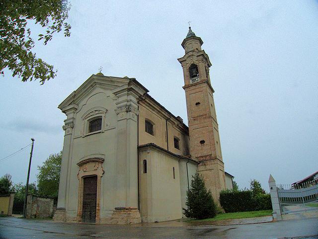 Foto della Chiesa di San Rocco a Vergonzana, frazione della città di Crema