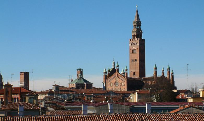 Uno scorcio dall'alto di Cremona