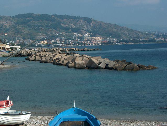 Vista su Gallico Marina
