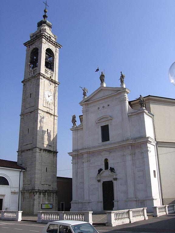 Foto della parrocchia di San Pancrazio Martire a Gorlago dove si sono svolti i funerali di Stefania Crotti