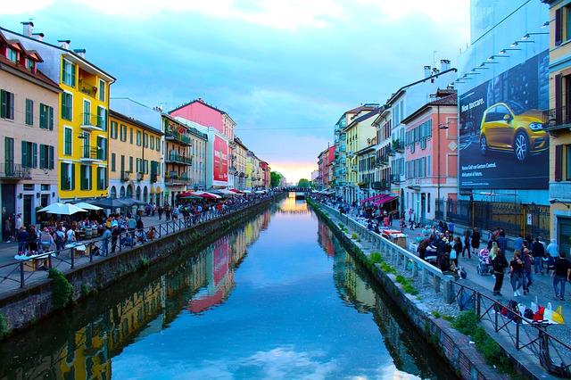 Foto di Milano sul Navigli