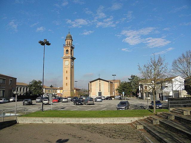 Foto di Riva del Po, comune Ferrarese dove Cinzia Fusi abitava insieme ai genitori