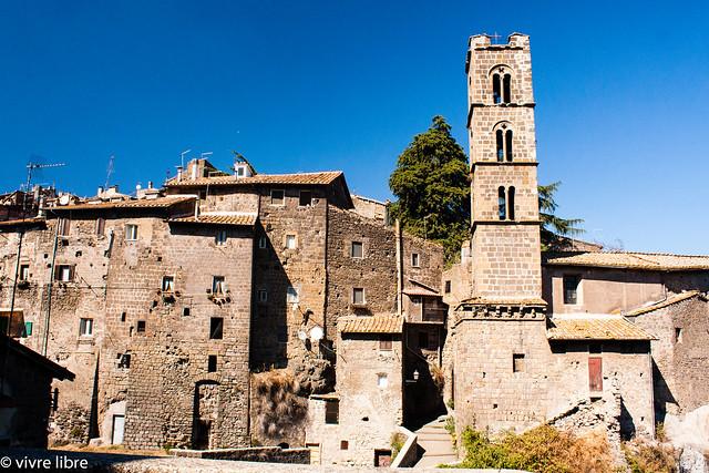 Uno scorcio del borgo medievale di Ronciglione