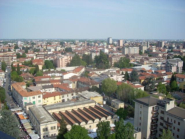 Panoramica dall'alto di Seregno
