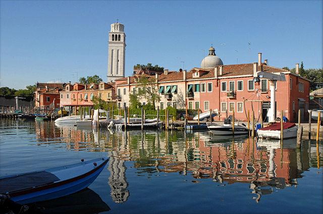 Uno scorcio dell'isola di San Pietro di Castello a Venezia